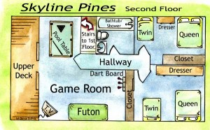 skyline pines second floor